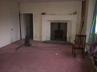 Annex - Sitting Room - New fire - 20120925