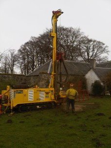 Another day, another few metres drilled...
