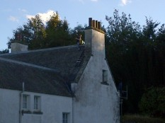 New chimney pot in place