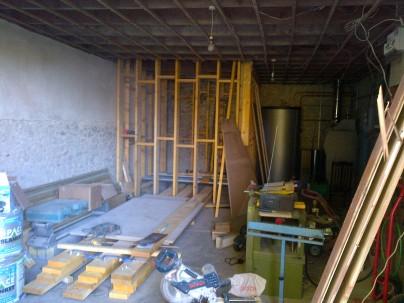 Pellet store starting to take shape