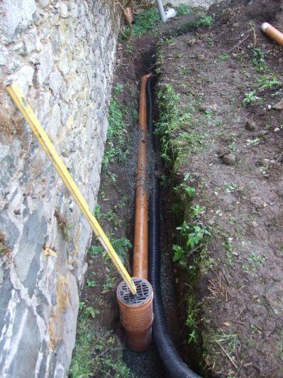 External - New drains 2 - 03112012 - TC