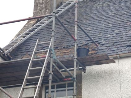 Reslating the roof