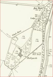 1898 OS Map - Hallyards