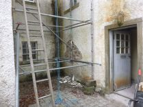Harling Removal - Courtyard - 03032013 - Feb