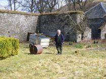 Granny in garden - 14042013