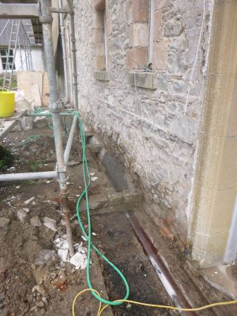 Back drains - 12052013
