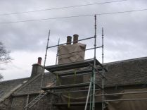 Chimney covered - 02052013