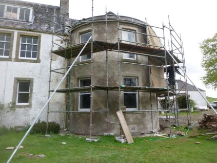 Harling - front elevation uncovered 2 - 24052013