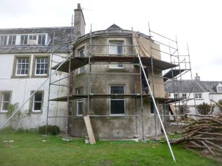 Harling - front elevation uncovered - 24052013