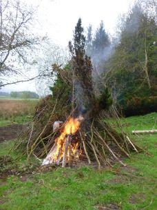 Mega bonfire - 20052013