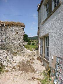 Dismantling Wall 1- 12072013