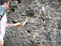 Tony rebuilding SWG wall 2 - 01072013