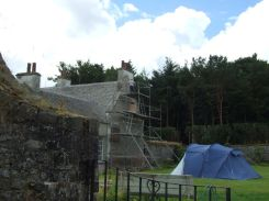WG Gable - render removal - August 2013 - TC