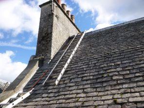 Roof - main house verge 1 - 14092013