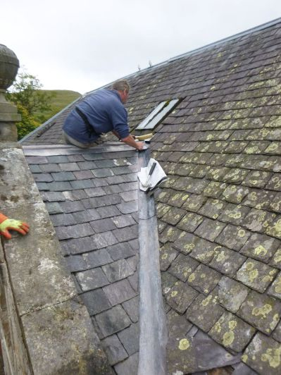 Stable roof - leadwork - 2- 13092013
