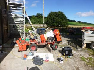 Tractor repairs - 08092013