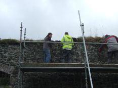 Garden wall repairs - Oct 2013 - TC