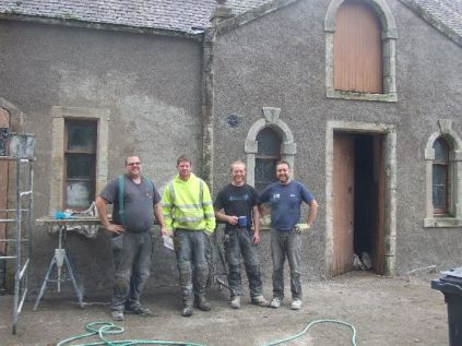 Harling - Stables - the team - Oct 2013 - TC
