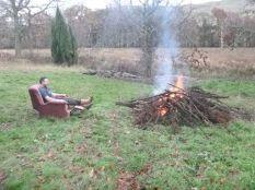Tony & the bonfire - 24112013