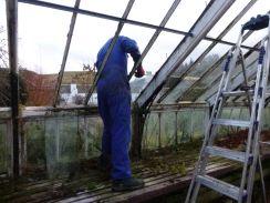 Greenhouse demolition 10 - 13122013