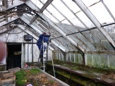 Greenhouse demolition 5 - 13122013