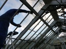 Greenhouse demolition 9 - 13122013