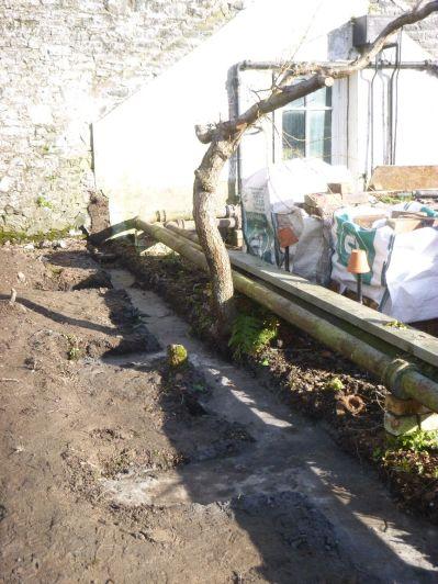 Glasshouse foundations - 16022014