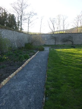 Path by herb border - 19042014
