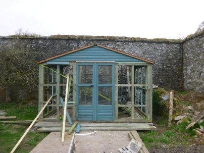 Summerhouse progress - 25042014