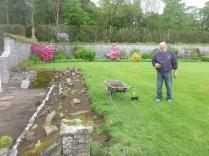 Alan & the alpine garden - 29052014