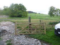 Gate post & gate - 17052014