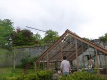 Glasshouse - metalwork - 17052014