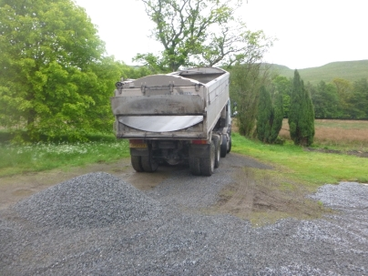 More gravel to spread 2 - 29052014