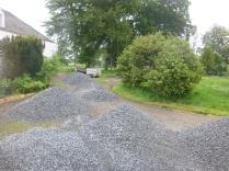 More gravel to spread - 29052014