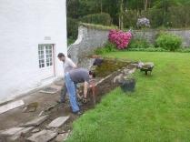 Working on alpine garden 2 - 27052014