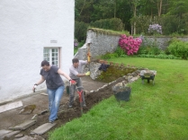 Working on alpine garden - 27052014
