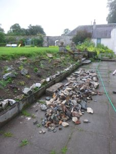 Stone pile from kitchen - 13072014