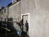 Limewashing stables 2 - 18102014