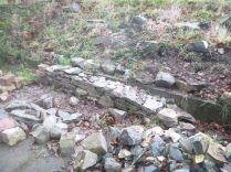New wall - Alpine garden - 1 - 21122014