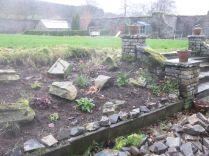 New wall - Alpine garden - 2 - 21122014