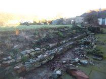 New wall - Alpine garden 6 - 28122014