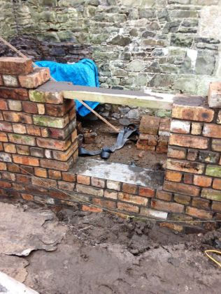 Potting Shed brickwork - 10032015 - SH