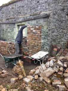 Potting Shed brickwork 5 - 10032015 - SH