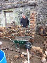 Potting Shed brickwork 6 - 10032015 - SH
