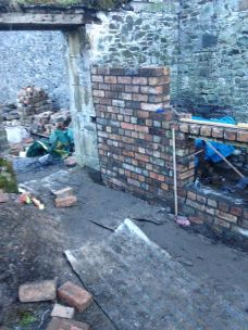 Potting Shed brickwork 7 - 10032015 - SH