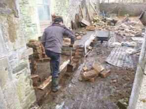 Potting shed foundations 2 - 28022015