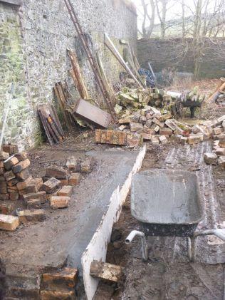 Potting shed foundations 3 - 28022015