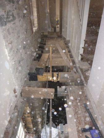 Beams in corridor - 12042015