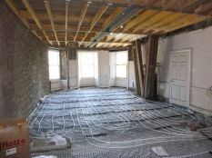 DRawing room - UFH pipes 2 - 21042015