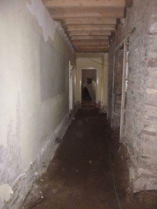 Floor prep - corridor - 09042015